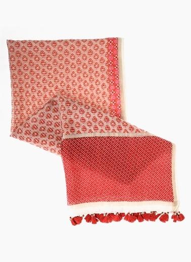 Divarese Şal Kırmızı